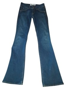 Hudson Jeans 35 Inseams Free Shipping 26 X 35 Boot Cut Jeans-Dark Rinse