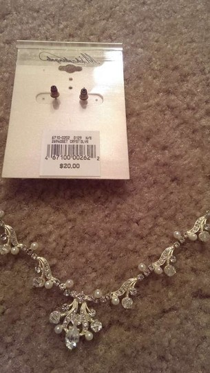 Michelangelo Silver Necklace and Earring Jewelry Set
