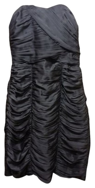 Preload https://item3.tradesy.com/images/h-and-m-steel-bluegrey-strapless-sweetheart-silky-ruched-knee-length-night-out-dress-size-6-s-30167-0-0.jpg?width=400&height=650
