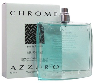 Azzaro Chrome by Loris Azzaro 3.4 oz Cologne for Men New Spray Tester No Cap