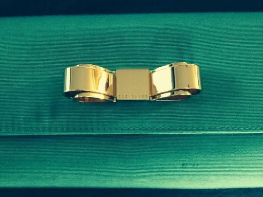 Ted Baker green Clutch