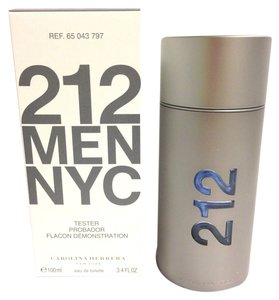 Other 212 By Carolina Herrera MEN COLOGNE SPRAY 3.4 OZ 100 ML NEW W/CAP IN Tester Box