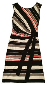 Lucy & Laurel short dress Multicolor black and orange Summer Rayon on Tradesy