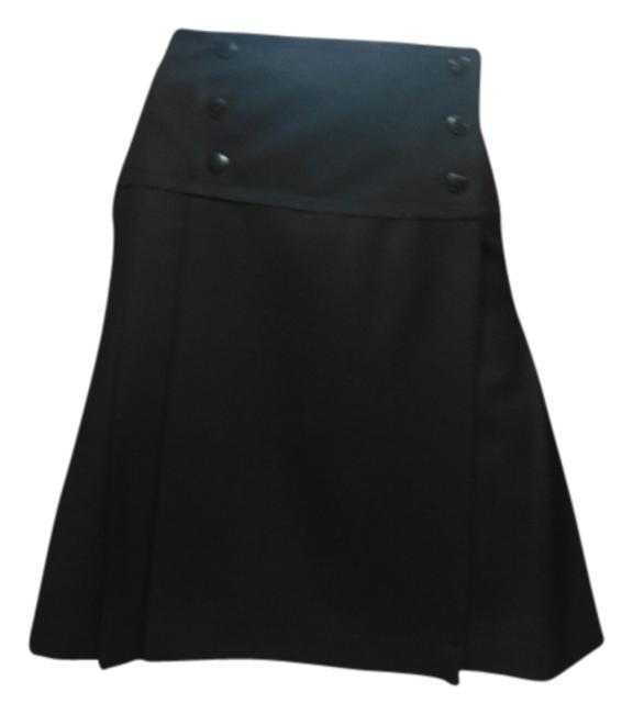 Preload https://item3.tradesy.com/images/chanel-black-wool-pleated-with-logo-knee-length-skirt-size-8-m-29-30-3017092-0-0.jpg?width=400&height=650