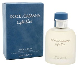 DOLCE & GABBANA * LIGHT BLUE * Cologne for Men * 4.2 oz * New In Box