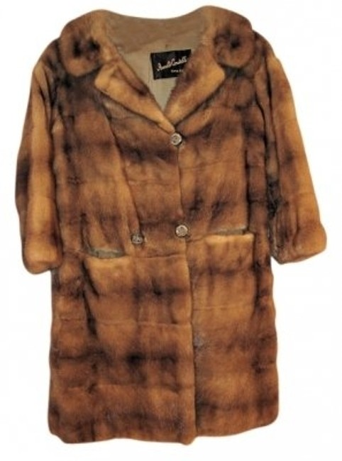 Item - Medium Brown - Mink Coat Size 10 (M)