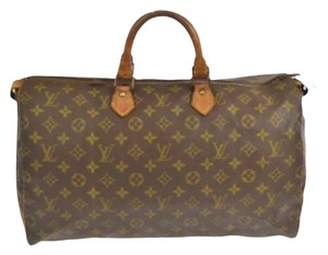 Louis Vuitton Soeedy Satchel in Brown
