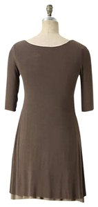 Bailey 44 short dress Taupe on Tradesy