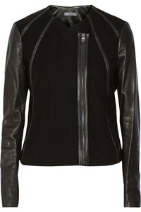 Vince Leather Motorcycle Jacket