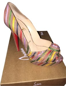 Christian Louboutin Style Multi Pumps