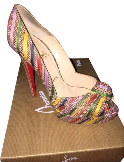 Christian Louboutin Style Luxuryshoes Multi Pumps