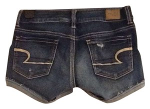 American Eagle Outfitters Cut Off Shorts Blue Jean