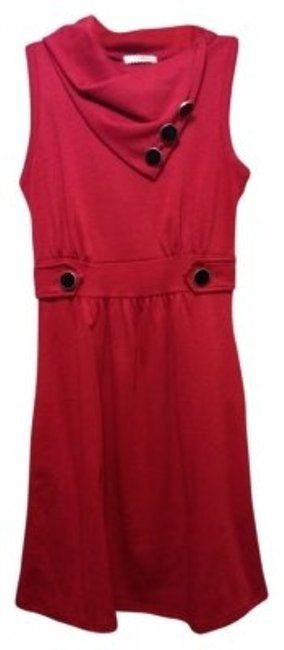 Preload https://img-static.tradesy.com/item/30191/modcloth-red-sleeveless-with-black-button-details-above-knee-short-casual-dress-size-2-xs-0-0-650-650.jpg
