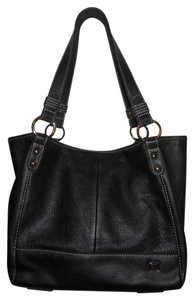 The Sak Leather Tote in black