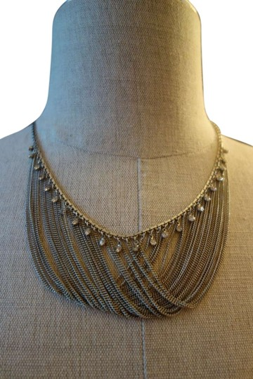 Other Edgy Classy Silver Necklace with Swarovski Crystals