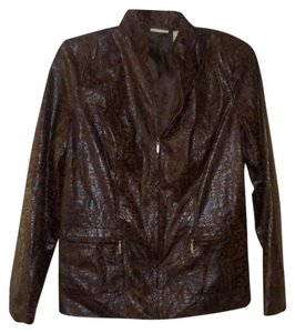 Kim Rogers brown Blazer