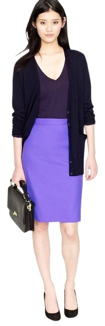 Preload https://item2.tradesy.com/images/jcrew-purple-no-2-pencil-double-serge-cotton-marrakesh-knee-length-skirt-size-4-s-27-3019801-0-2.jpg?width=400&height=650