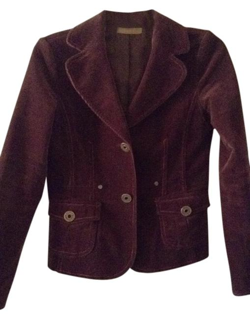 Preload https://item2.tradesy.com/images/brown-blazer-with-accent-stitching-cardigan-size-4-s-301991-0-0.jpg?width=400&height=650