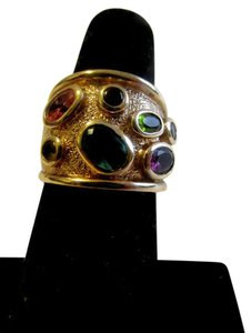 Real Collectibles by Adrienne Real Collectibles by Adrienne Confetti Dome Ring Size 7