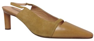 Richard Tyler Camel Pumps