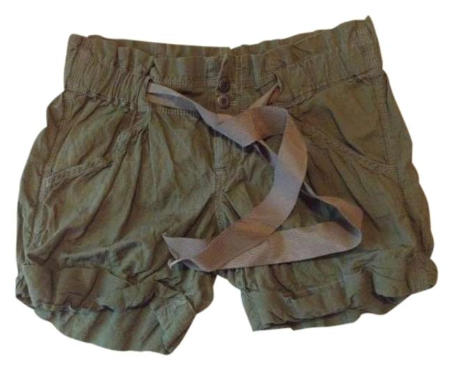 Ann Taylor LOFT Cuffed Shorts Green