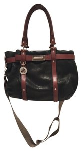 Lanvin Tote in Black/Brown trim