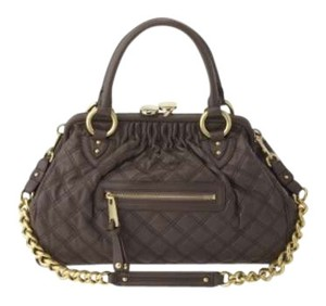Marc Jacobs Stam Nwt Satchel in Brown