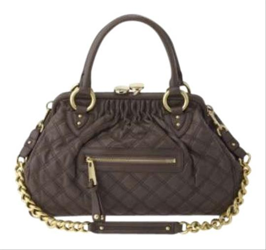 Marc Jacobs Stam Satchel in Brown