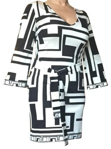 Emilio Pucci short dress Black-And-White on Tradesy