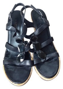 Vaneli Black Wedges