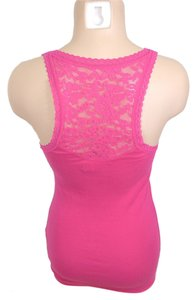 Hollister Lace Racer-back Top PINK