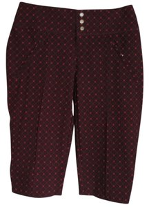 4all by Jofit Bermuda Shorts Burgundy