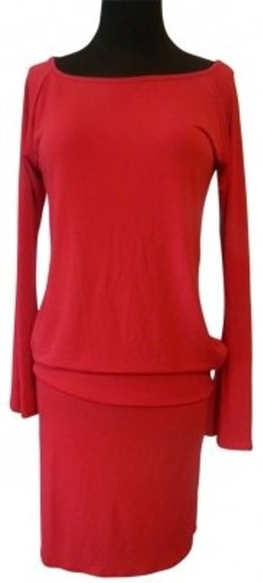 Preload https://item2.tradesy.com/images/moda-international-red-knit-long-sleeve-dropped-waist-above-knee-night-out-dress-size-6-s-30231-0-0.jpg?width=400&height=650