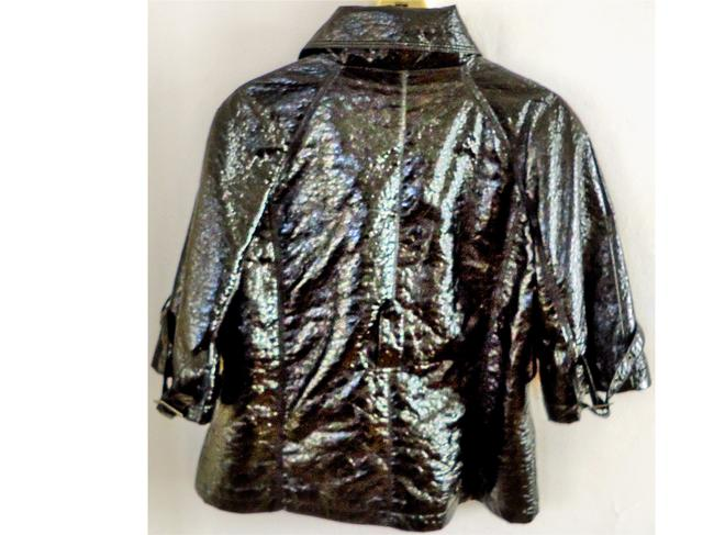Mossimo Supply Co. Patent Leather black Jacket