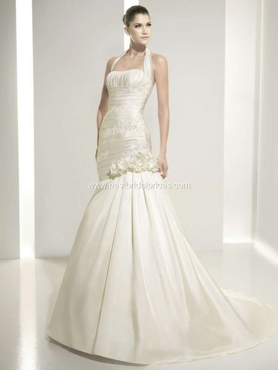 Ivory Bridal Gown Dress Size 8 (M)