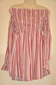 Zoey & Beth Top Pink Striped