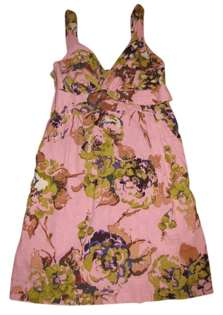 Zinzane short dress Multi colored - purples, pinks, greens on Tradesy