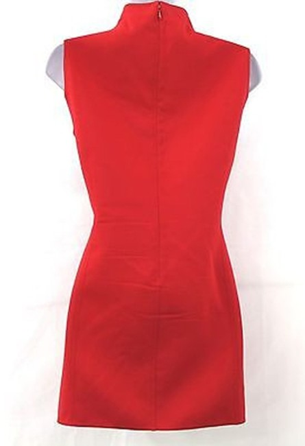 Ellen Tracy Linda Allard Tunic Top RED