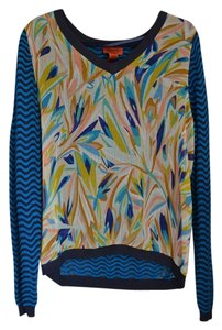 Missoni for Target Sheer Multi-colored Pattern Sweater