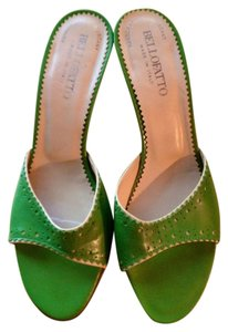 Bellofatto Lime Green Sandals