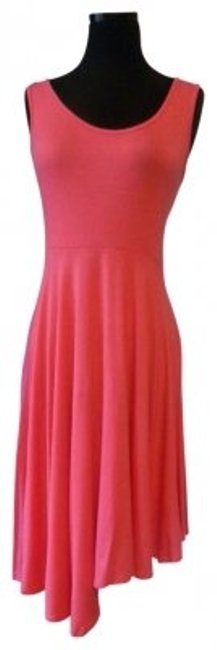 Preload https://img-static.tradesy.com/item/30254/coral-sundress-knit-high-low-short-casual-dress-size-6-s-0-0-650-650.jpg