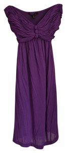 BCBGMAXAZRIA short dress Purple Day on Tradesy