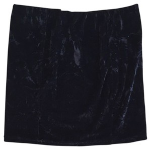 Millau Skirt Black Velvet