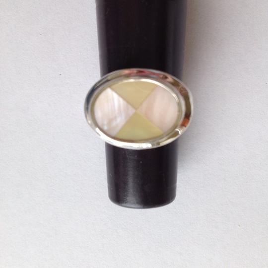 Other Sterling Silver And Mother Of Pearl Ring