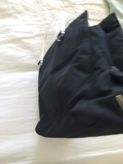 Prada Tote in Black and clear