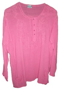 GEETA Top HOT PINK