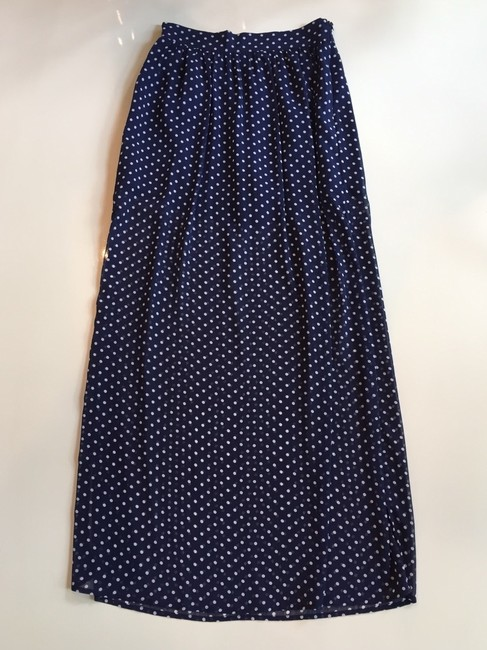 Other Skirt Navy And White