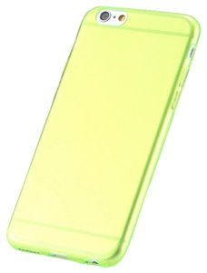 """Other Green - IPhone 6 4.7"""" TPU Rubber Gel Ultra Thin Case Cover Transparent Glossy 10 Colors Available"""