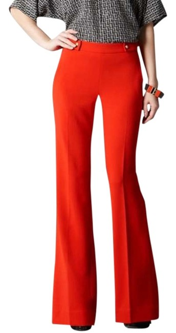 Item - Red Kate Zip Flare Pants Size Petite 2 (XS)