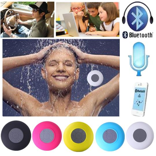 Other Green Waterproof Wireless Bluetooth Handsfree Mic Speaker Shower Car Mini IPhone Samsung Cell Phone
